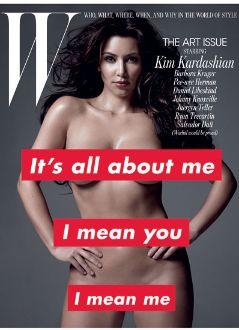 kim, kardashian, playboy, w, magazine