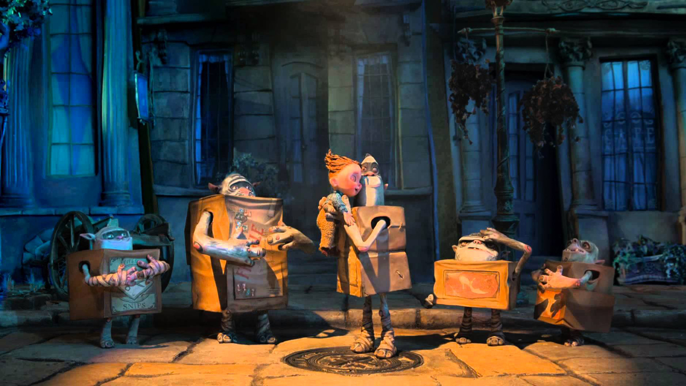 Risultati immagini per boxtrolls - le scatole magiche