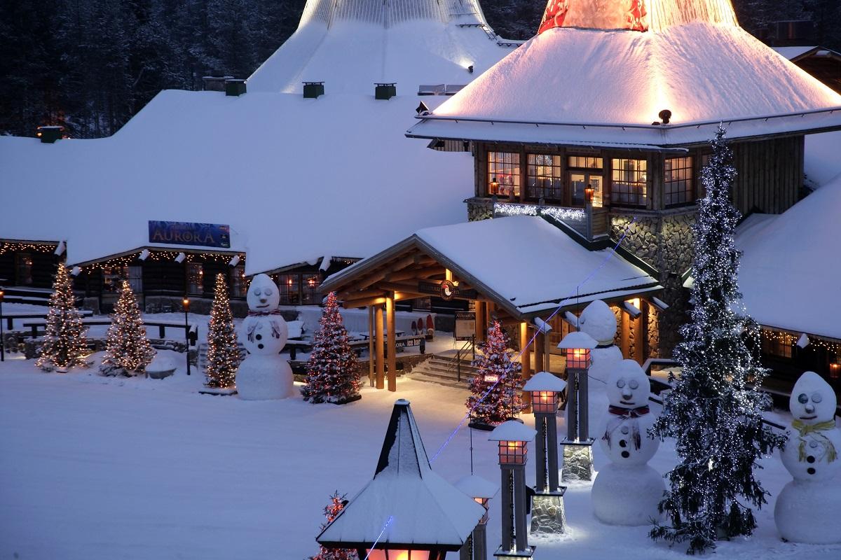 Babbo Natale In Casa.Rovaniemi La Casa Di Babbo Natale Tgcom24