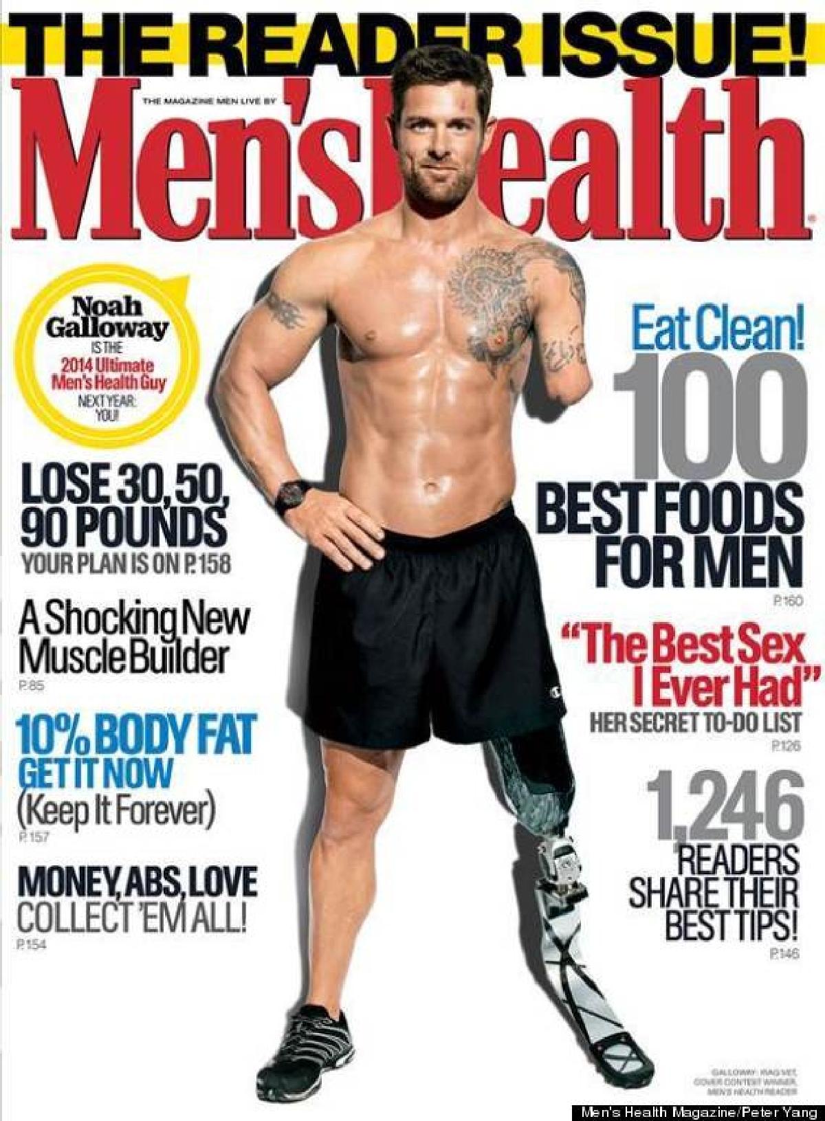 Conosciuto Veterano doppio - amputato sulla copertina di una rivista: è  WZ62