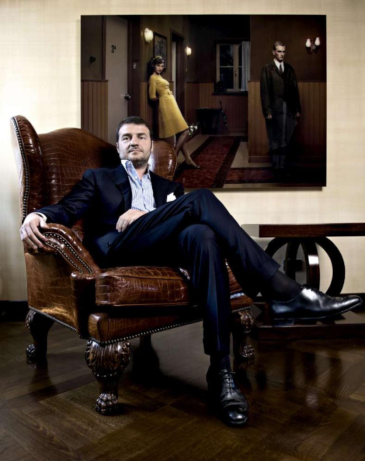 quality design 3e1e6 9834a Cruciani, il marchio fashion crede nell'Italia Niente crisi ...