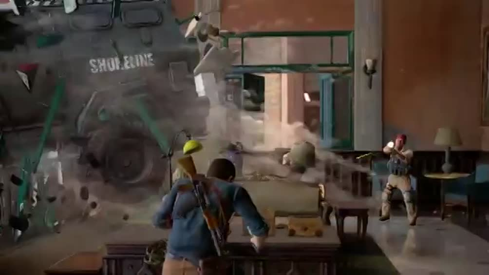 E3, Uncharted 4 sizzle