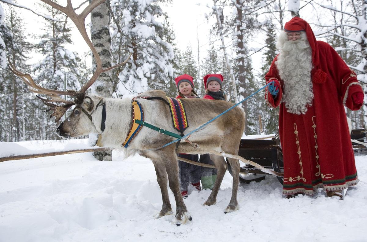 Casa Di Babbo Natale Lapponia Spazio