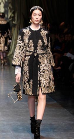 Moda  il Barocco di Dolce e Gabbana - Per Lei - Tgcom24 337b408b994