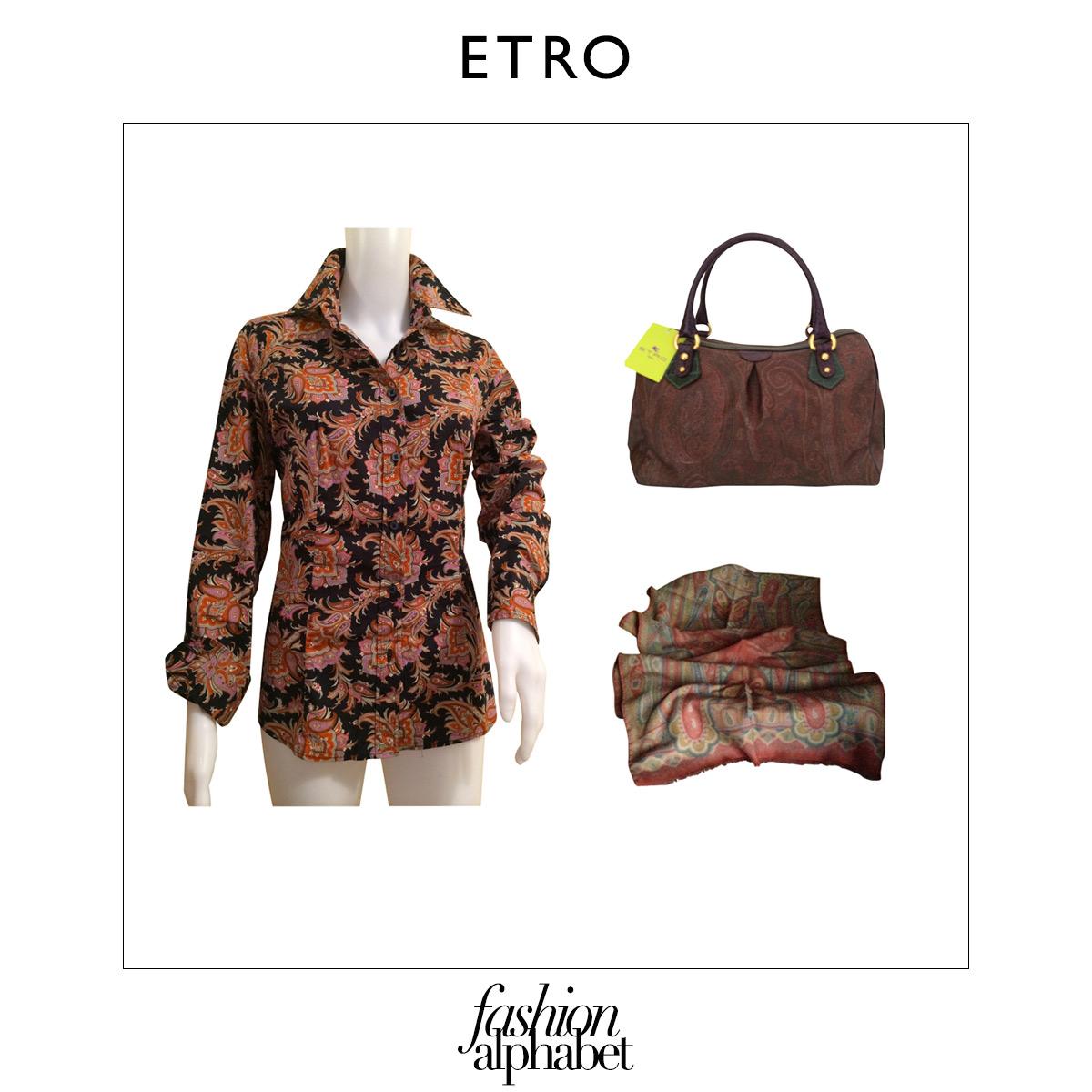 sale retailer b685b 84815 Fashion Alphabet: E come Etro - Tgcom24