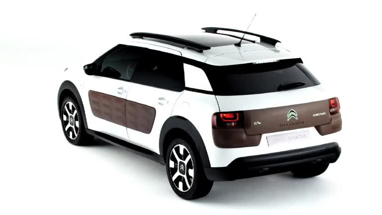 gli airbump di citroen c4 cactus tgcom24. Black Bedroom Furniture Sets. Home Design Ideas