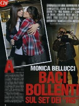 Bellucci, baci e passione con Lucia Rossi - Televisione ...