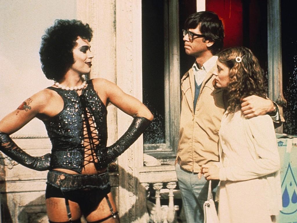 Risultati immagini per the rocky horror picture show film 1975