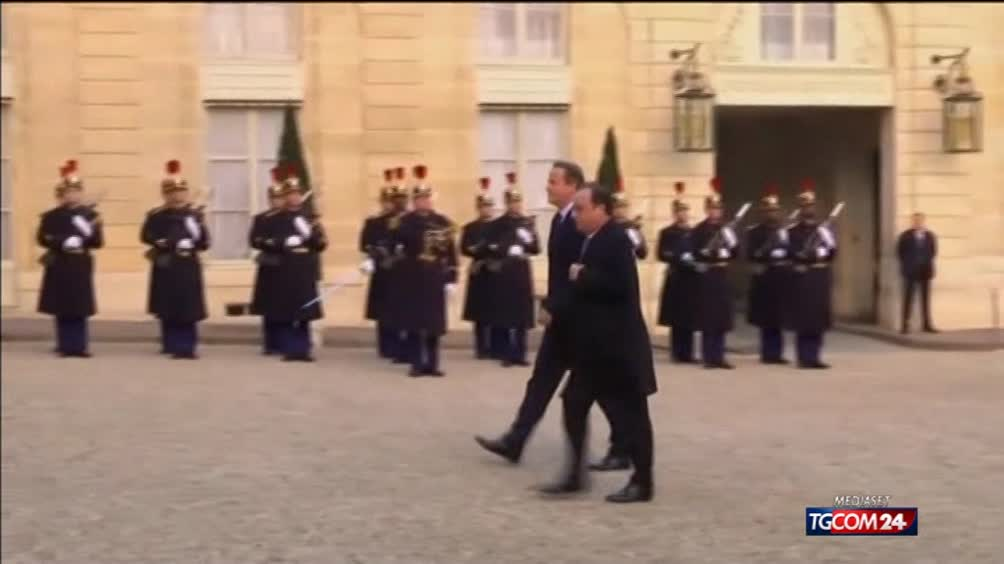 Cameron-Hollande, guerra all'Isis