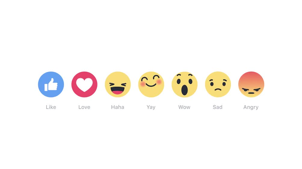 "Facebook, presentate le ""reactions"""
