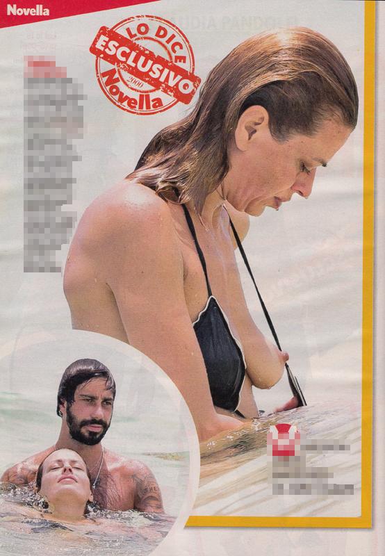 Claudia nackt Pandolfi Claudia pandolfi