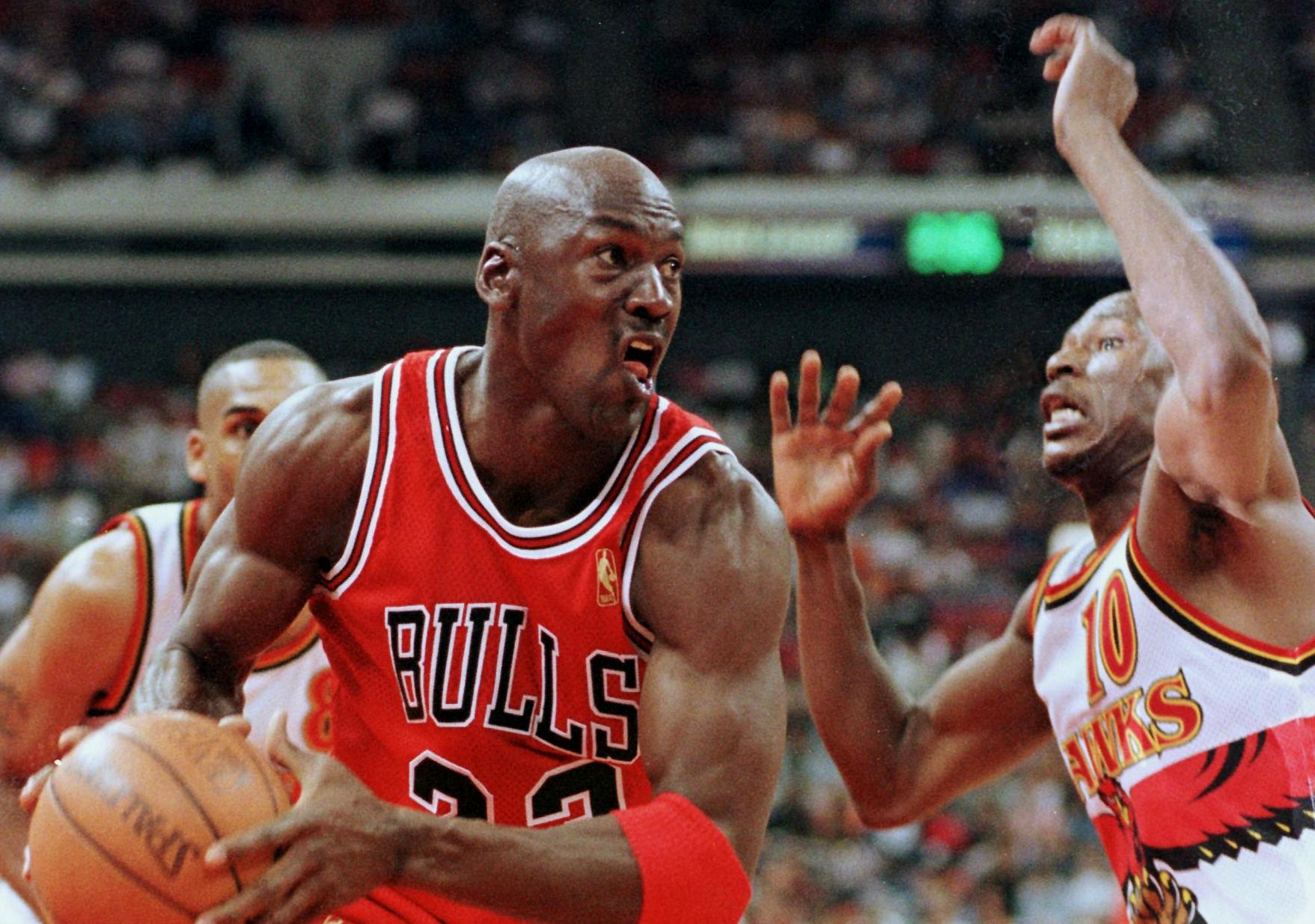 a history of the basketball player michael jordan