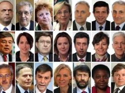 Oggi giura il governo letta politica tgcom24 for Politici di destra nomi