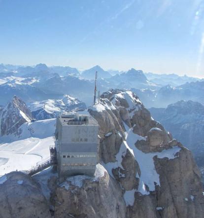 Inaugurata la terrazza sulle Dolomiti - Tgcom - Foto 2