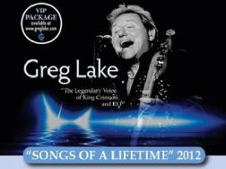 Greg Lake Tour  Italia