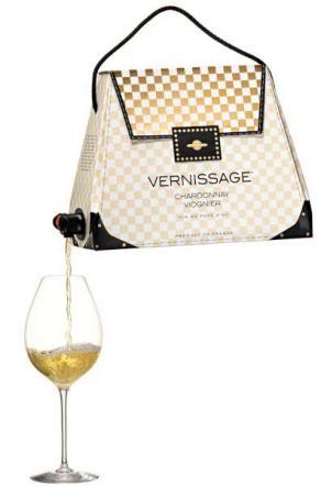 borsa porta vino