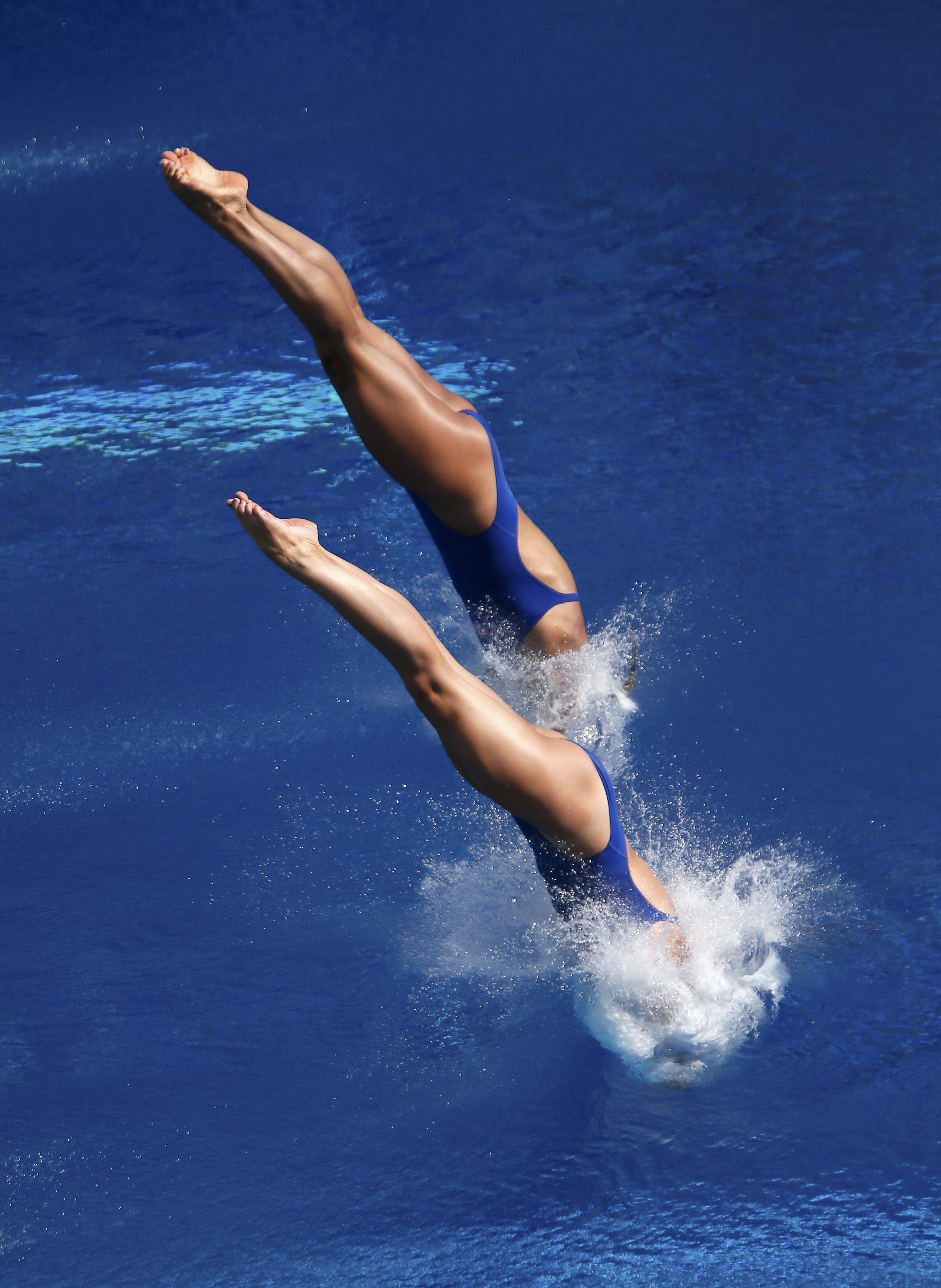 Девушки водных видов спорта фото