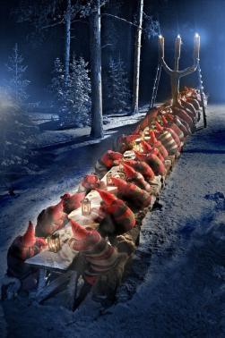 Casa Di Babbo Natale Al Polo Nord.La Casa Di Babbo Natale Citta Di Babbo Natale A Rovaniemi